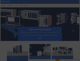 gantner-instruments.com screenshot