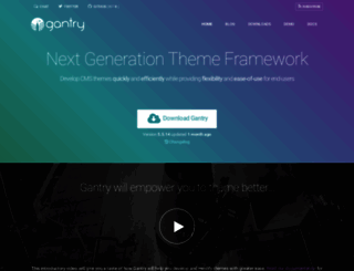 gantry.org screenshot