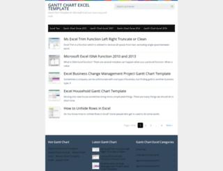 gantt-chart-excel.com screenshot