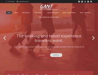 ganttravel.com screenshot