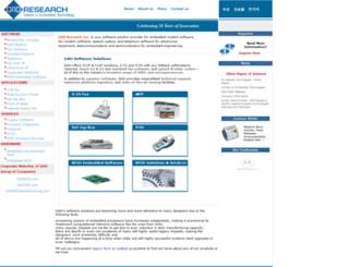 gaoresearch.com screenshot