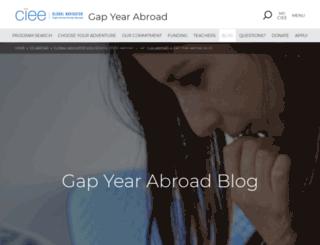 gap-year-abroad-blog-china.ciee.org screenshot