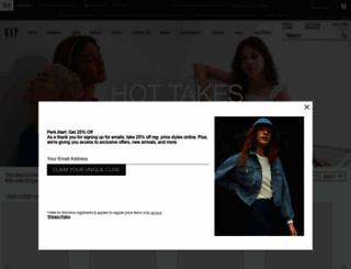 gapcastingcall.com screenshot