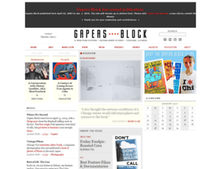 gapersblock.com screenshot