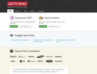 gapotchenko.com screenshot