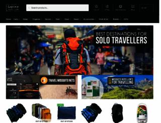 gapyeartravelstore.com screenshot