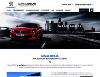 garage-aguilar.fr screenshot