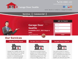 garage-door-seattle.com screenshot