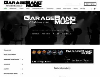 garagebandmusic.co screenshot