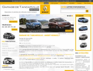 garagedetancarville-renault.com screenshot
