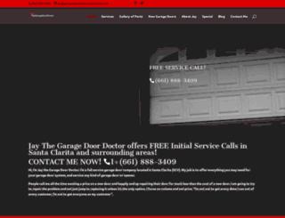 garagedoordoctorsantaclarita.com screenshot