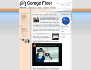 garagefixer.co.uk screenshot