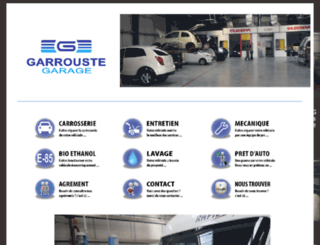 garagegarrouste.fr screenshot
