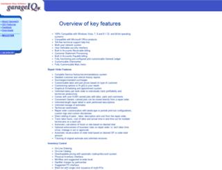 garageiq.com screenshot