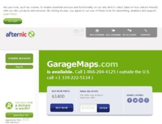 garagemaps.com screenshot