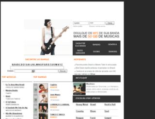 garagemmp3.cifras.com.br screenshot