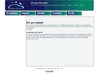 garagemousset.com screenshot