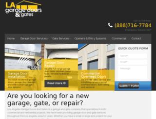garagerepairla.com screenshot