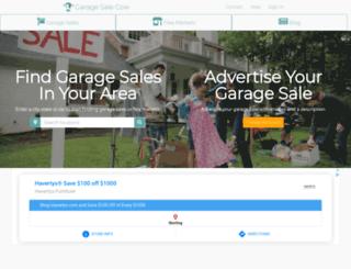 garagesalecow.com screenshot