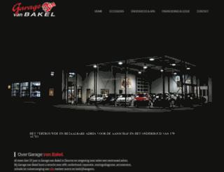 garagevanbakel.nl screenshot