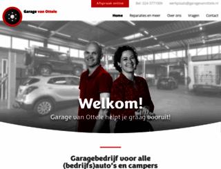 garagevanottele.nl screenshot