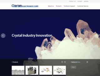 garamec.com screenshot
