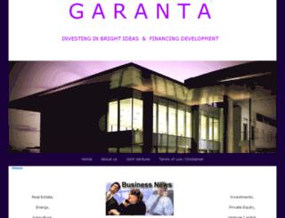 garanta.co screenshot