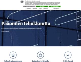 garantia.fi screenshot