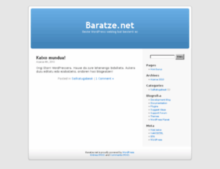 garapena.bitarlan.net screenshot