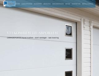 garasje-porter.no screenshot