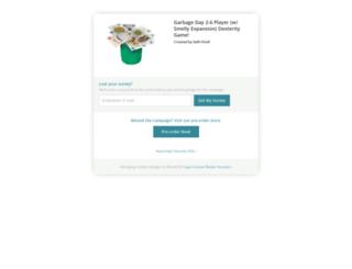 garbage-day.backerkit.com screenshot