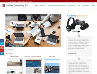 garberconsulting.net screenshot