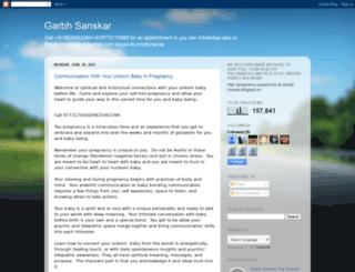 garbhsanskar-dr-chavda-unnati.blogspot.in screenshot