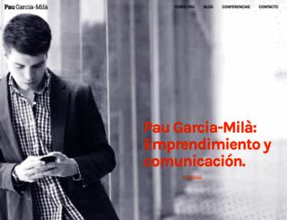 garcia-mila.com screenshot