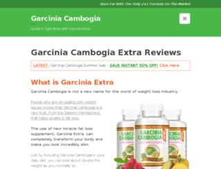 garciniacambogiaselectofficialwebsite.com screenshot