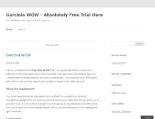 garciniawowtry.wordpress.com screenshot