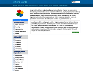 gardajezioro.com screenshot
