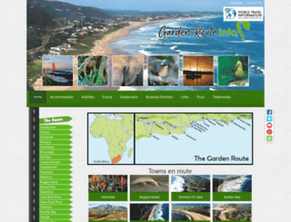 garden-route-info.co.za screenshot