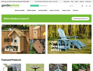 gardenature.co.uk screenshot