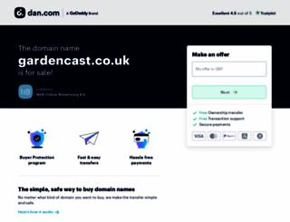 gardencast.co.uk screenshot
