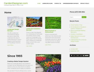 gardendesigner.com screenshot