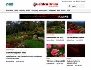 gardendrum.com screenshot