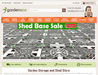 gardeneco.co.uk screenshot