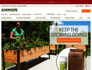 gardeners.com screenshot