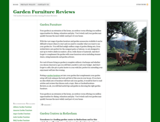 gardenfurniture-reviews.co.uk screenshot
