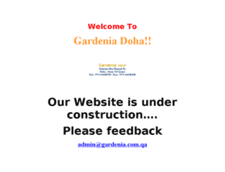 gardenia.com.qa screenshot