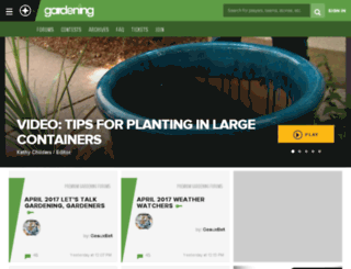 gardening.scout.com screenshot