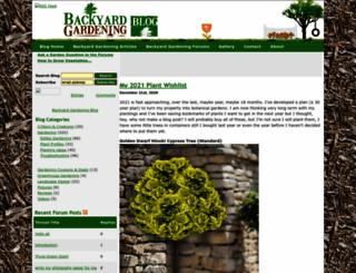 gardeningblog.net screenshot