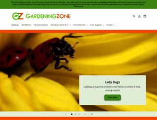 gardeningzone.com screenshot