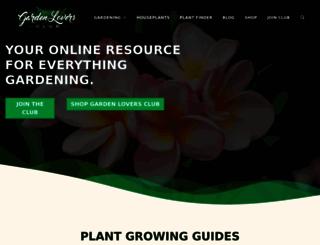 gardenloversclub.com screenshot